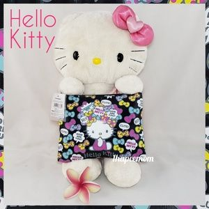 Hello Kitty Flat Pouch Sanrio Mini Bag